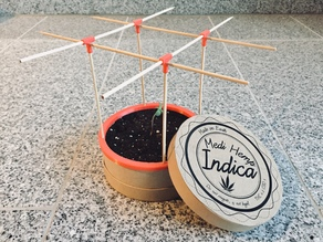 Gift Idea - Mini Garden - For Different Plants - green deko