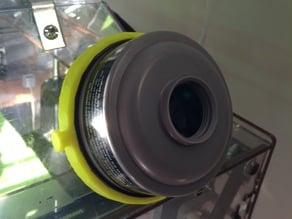 Fume hood air filter