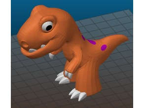 Rex from the makers of Dr Fluff - multimaterial remix