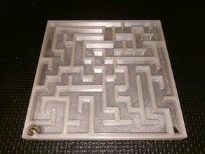 Rolling ball maze generator