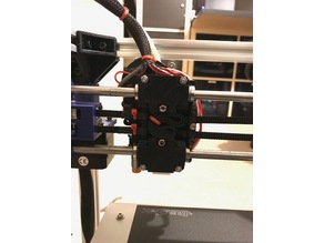 HyperCube X Extruder carriage upgrade