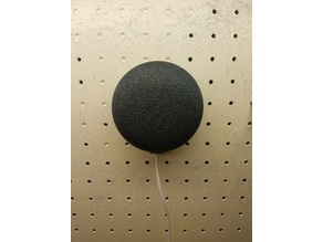 Google Home Mini Invisible Pegboard Mount