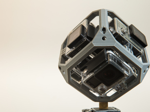 "GoPro Hero 3/4 360 ""Underwater"" Spherical Rig"