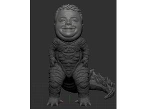 Barnzilla! A remix of Godzilla