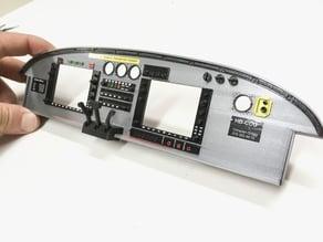 2.7m Pichler/VQ Pilatus PC-6 Porter Instrument Console