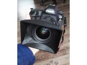 Lenshood for Sigma 35mm f1.4 ART / Mattebox Gegenlichtblende / ENG television camera style