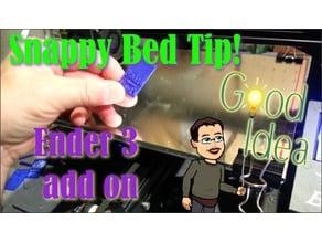 Snap On Ender 3 Bed Leveling Reminder v2