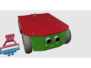 LEGGI ,LEGO Compatible Car Mk 2