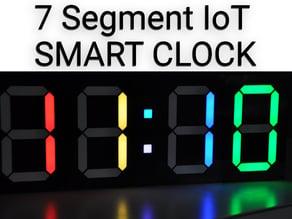 7 Segment LED Smart Clock