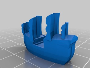 Tiny ship meeple 2
