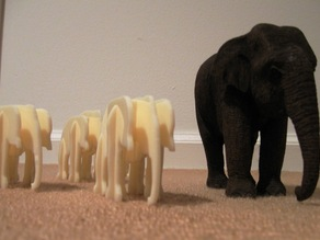 Elephant Table Ornament