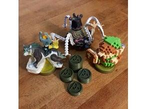 Zelda themed RFID base