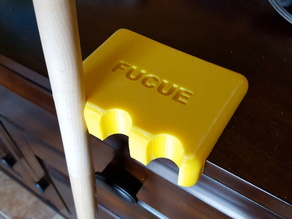 Pool Cue Holder/Stand/Rest - The FUCUE