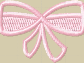 Free Standing Lace Ribbon - Embroidery