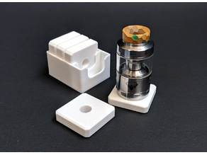 Atomizer Coasters with case