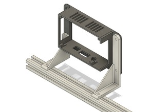 "7"" pi-display brackets for 2020 extrusions (e.g. Ender 3)"