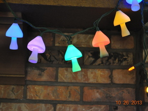 Christmas light covers