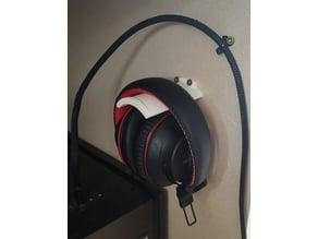 Headphone Wallmount/Deskmount holder - smallish