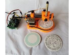 Polar Coaster Drawing Machine