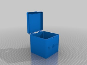 My Customized hinged box V2 lid