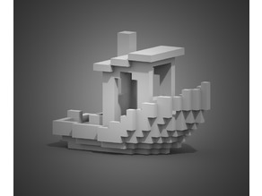 The Voxel Benchy