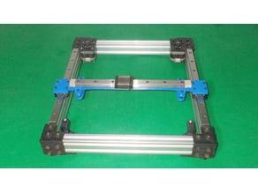013-Core XY Homemade CoreXY CNC Frame Cartesian Motion Platform DIY Laser Plotter Actuators 3D Printer