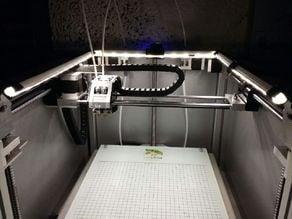 Leapfrog Creatr HS - custom standalone LED light system