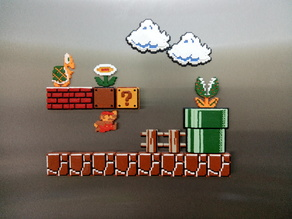Mario Bros tile set.