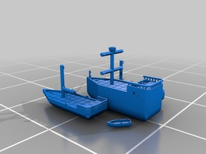 Modular 28mm Scale Ships ~ Prison & Patrol