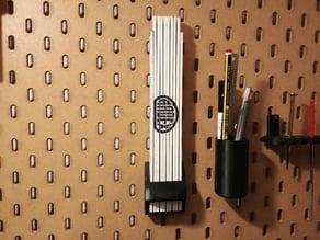 Ikea Skådis - Foldable Rule Holder 40 mm x 17 mm