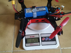 Maticora quadcopter 250 fpv gimbal