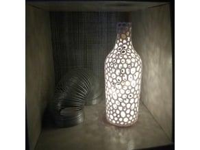 Decorative Voronoi Bottle