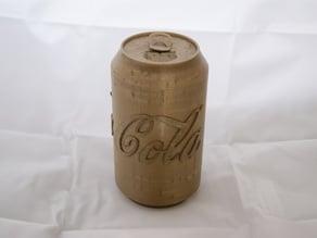 Coca Cola TinBottle