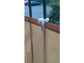 Balcony Privacy Screen Holder