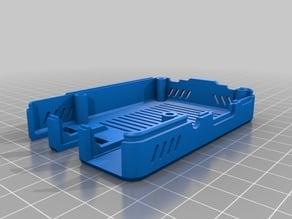 Pi 3B+ case with 2020 bracket