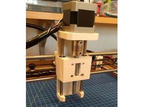 Simple z Axis for Plotter, Drawing Machines or CNC