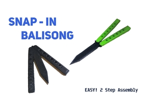 Snap in Balisong/Butterfly knife