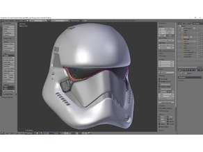 Stormtrooper Helmet 0.1n (AS IS)