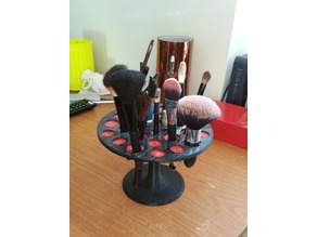 Makeup brushes organiser V2