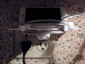 iPhone Charger Mount