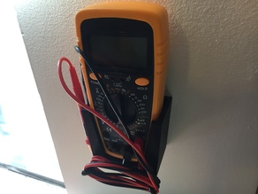 Multimeter wall mount
