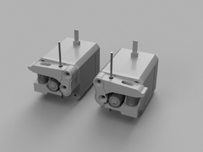 Spring Drive Block Extruder for CTC Bizer (Replicator Clone) MK8 Remix for Makerbot Clone 3D Printers (FlashForge, Wanhao)