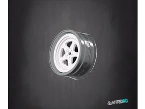 1-10 RC Wheel Design #5 Design by SlantedRC