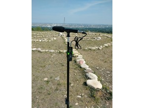 Light Stand Holder - Digital Recorder - Sony ICDPX370