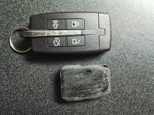 2010+ Ford Taurus Key Fob (shrunken, no buttons)
