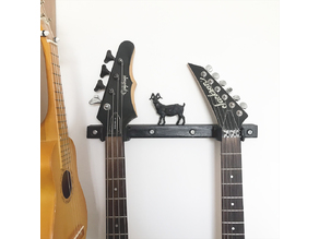 Jackson JS30 guitar hanger (and other strange neck heads)