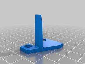Ender 3 filament guide -- updated bolt pattern