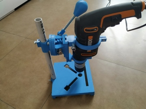 Support for Worx brand driller to adapt to Rotary tool