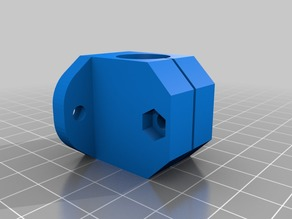 LM8U(U) linear bearing housing and lead screw set