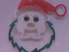 Santa ornament / keychain